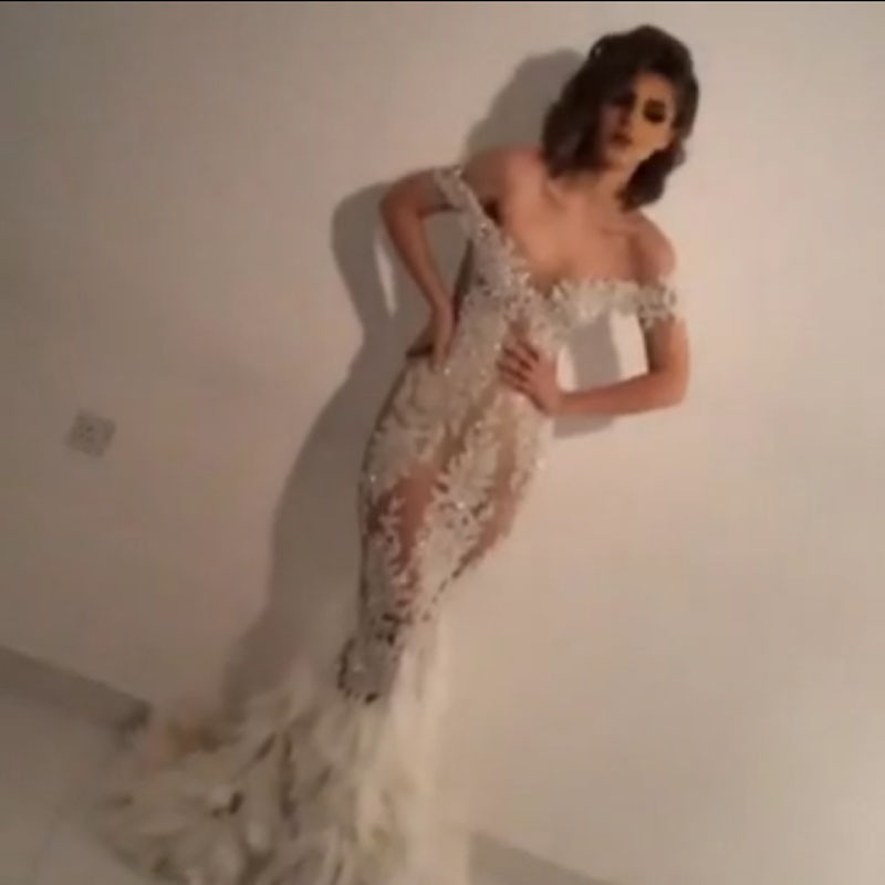 2018 Sexy Illusion Designer Sweetheart Appliqued Beaded Mermaid Bridal Gown Prom Vestido De Noiva Mother Of The Bride Dresses