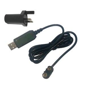 Image 5 - 9V Battery Eliminator USB Cavo 5V Boost per 9V Convertitore di Tensione Step up Volt Trasformatore DC regolatore di potenza Linea Per Il Tester