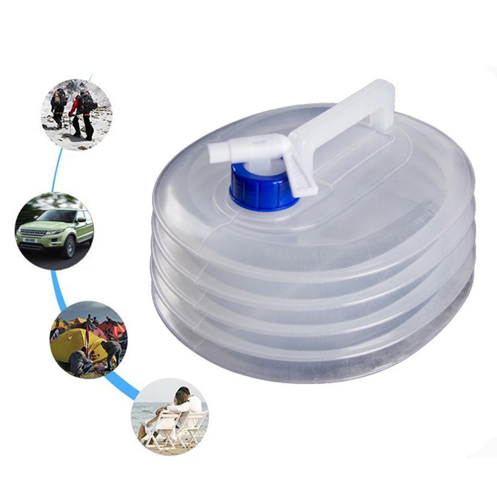 3/5/10/15l dobrável balde de plástico dobrável banheira quadrada portátil garrafa de bebida escalada ao ar livre para acampamento caminhadas escalada