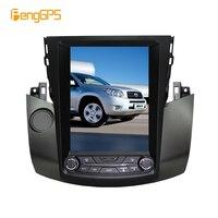 10.4 4+64 8.1 Tesla Style Car Radio Vertical Screen for Toyota RAV4 2006 2011 IPS Screen 6 Core In dash Carplay navigation