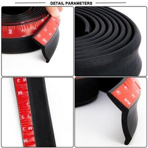 Image 3 - 2.5M Xe Trước Lip Cao Su Đa Năng Ốp Lưng Bảo Vệ Ốp Lưng Môi Dải Xe Bên Váy Xe Ô Tô 65Mm chiều Rộng Kiểu Dáng Xe
