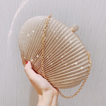 New Womens Bag Trendy Evening Bag Creative Shell Bag Clutch Bag Shoulder Cosmetic Bag Dance Bags for Woman цена 2017