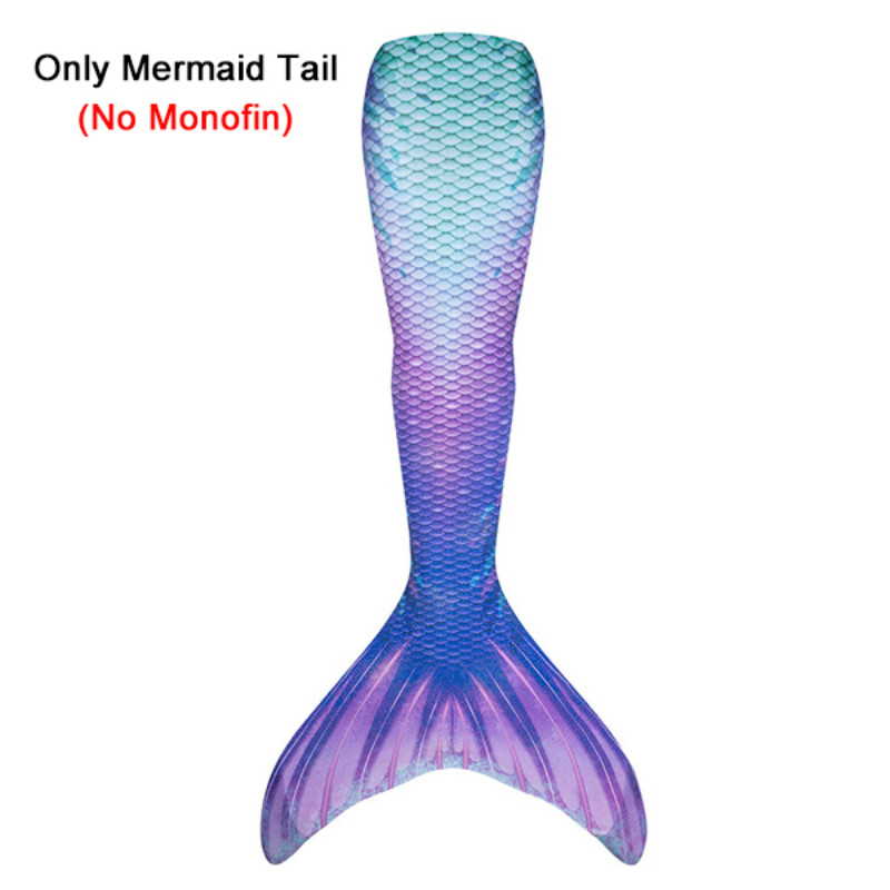 Adult Child Mermaid Tail Cos Costume High Waist Summer Beach Women Girls Swimming Bathing Suit Zeemeerminstaart No Fin C47514CH