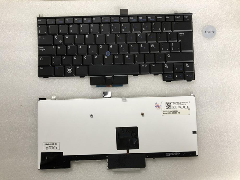 NEW For Dell Latitude E4310 P6VGX 0P6VGX Laptop Keyboard LA Layout Pointer