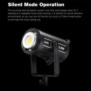 Image 2 - Godox SL150II SL 150W II LED فيديو ضوء 150W بوينس جبل النهار المتوازن 5600K 2.4G اللاسلكية X Systemfor مقابلة