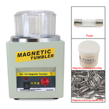 CE! Máquina de acabamento magnética do finalizador do polidor da joia do tumbler kt/KD 185, máquina de lustro magnética ac 110v/220v disponível