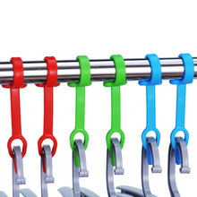 Windproof Buckle Plastic Silicone Hook Outdoor Anti-blowing Fixed DryingRack Anti-skid Hanger