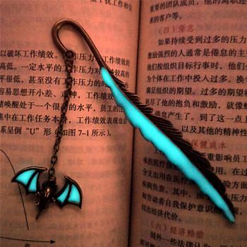 Luminous Vintage Copper zakładki do książek Bat zakładka do czytania ekspres do piór zakładka do artykułów piśmiennych tanie i dobre opinie CN (pochodzenie) bookmark Metal BRASS Zwierząt