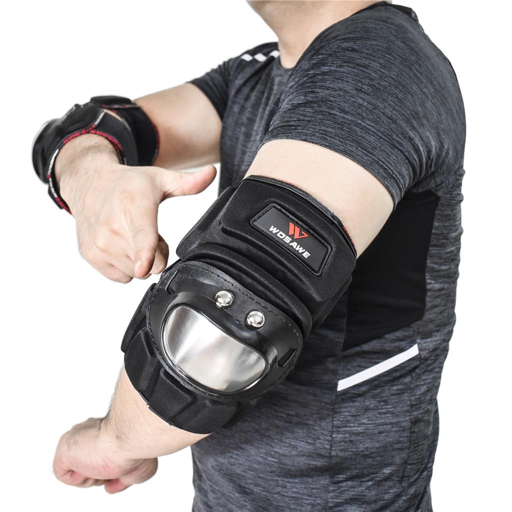 Motorbike Elbow Guard Motorcycle Protective Gear EVA Arm Armor Protector for Motorbike Riding Mountain Bike Skiing Skateboarding