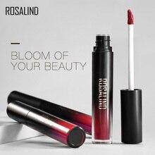 ROSALIND Cosmetics Matte Lip Gloss Red Lip Matte Long Lasting Full Professional Makeup Lipstick Gloss Waterproof Cosmetics цена 2017