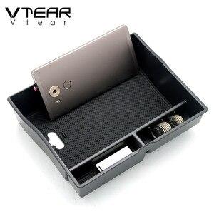 Vtear для Toyota Sienna ящик для хранения в подлокотнике автомобиля центральный контейнер для стайлинга лоток держатель перчаточный ящик Аксессуары Укладка tidying 2011