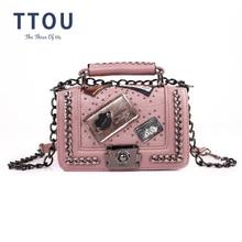 2020 Fashion PU leather Handbags Women Crossbody Messenger Bags Vintage Shoulder Bag Ladies Totes Evening Clutches Female Purse