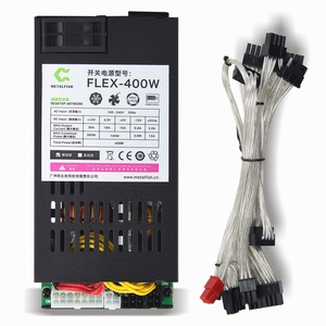 METALFISH Flex 400W Modular PSU Flex-ATX 300W for ITX PC Small 1U Computer Power Supply Active PFC For POS AIO system()
