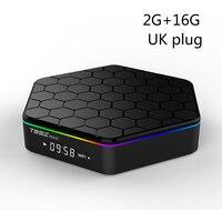 T95Z Plus 2G+16G 3G+32G TV Box For Android 7.1 Amlogic S912 Octa Core Dual WiFi 1000M IPTV 3D 4K Media Player