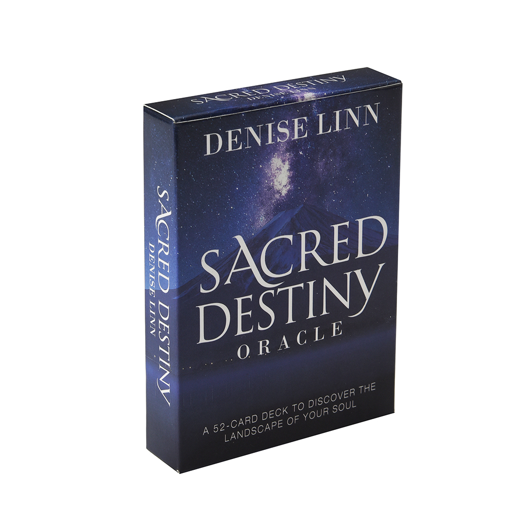 Sacred Destiny Oracle: A 52-Card Deck To Discover The Landscape Of Your Soul Cards The Energy Of Nature Majesty Of The World