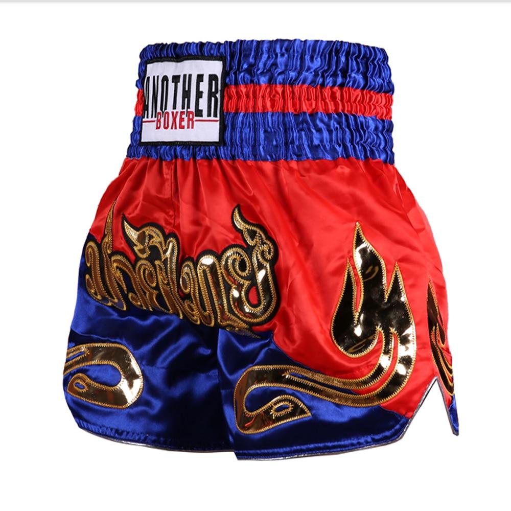 Men's Boxing Pants Printing MMA Shorts kickboxing Fight Grappling Short Tiger Muay Thai boxing shorts clothing sanda mma Shorts