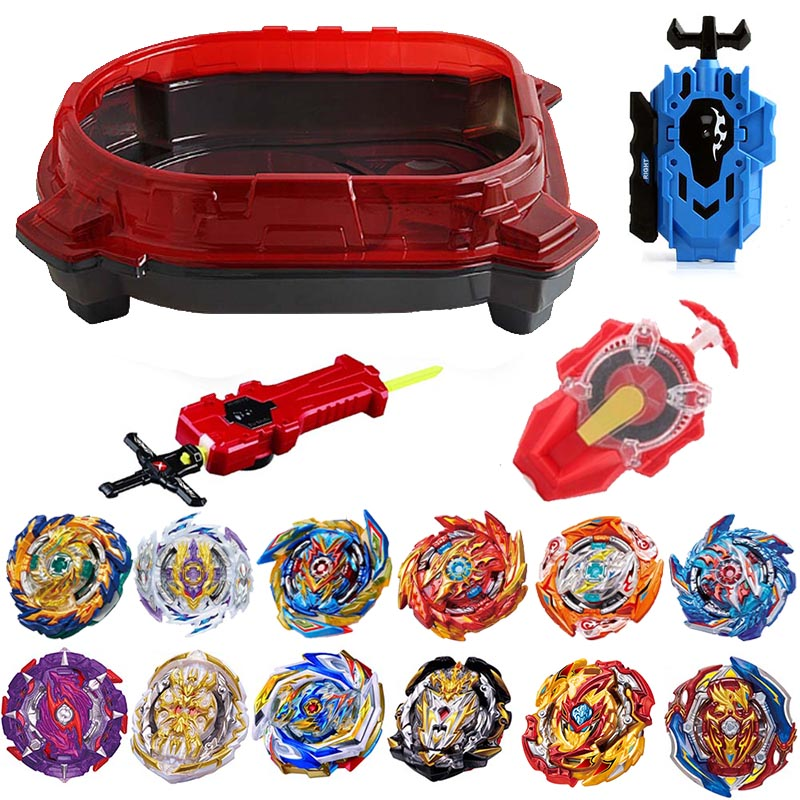 New Launchers Beyblade Toupie Bayblades Metal Black bables Set burst sparking Fafnir Box bey blade Bey blade Toys For Childn