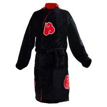 Dropshipping naruto uzumaki naruto uchiha itachi robe cosplay trajes manto adulto homem longo roupão pijamas