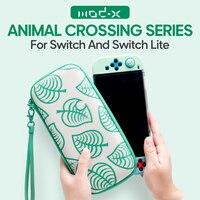 ModX Designer für Nintendo Schalter Fall Tasche Animal Crossing Nintend Schalter Lite Fall Tasche Nintendoswitch Abdeckung Nette Tragbare Tasche