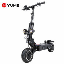"YUME X11 potente 11 ""Motor 5000W neumáticos todoterreno hasta 55 millas y 60mph Scooter Eléctrico plegable para adultos(China)"