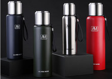 YIWUMART Premium Travel Stainless Thermos  Cups Vacuum Flask thermo Water Bottle Tea Mug Large Capacity Coffee Cup