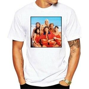 2020 eğlence moda % 100% pamuklu tişört Baywatch TV show baskılı orijinal 1989 - 2001 yürümeye başlayan gençlik yetişkin
