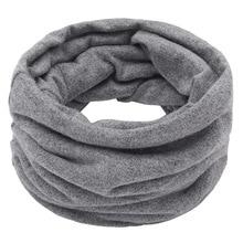 Cotton Scarf Spring Neck-Collar Warm Winter Fashion Unisex Women Autumn Rimiut for Solid