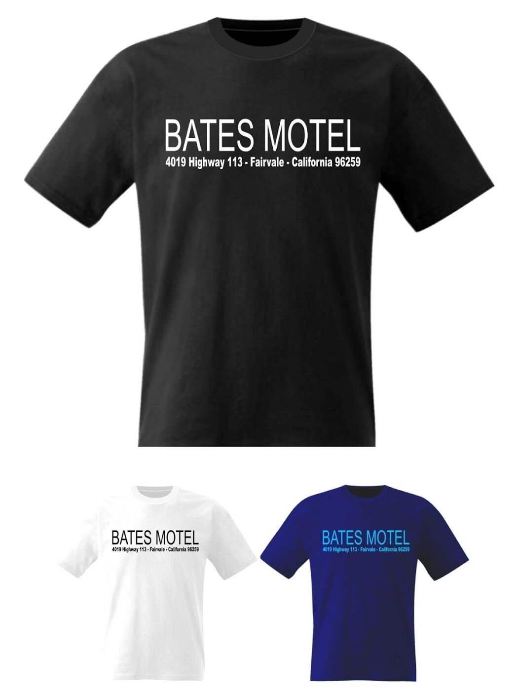 Bates Motel Psycho T Shirt Cult Hitchcock Movie DVD TV - Sizes Small to 8XL image