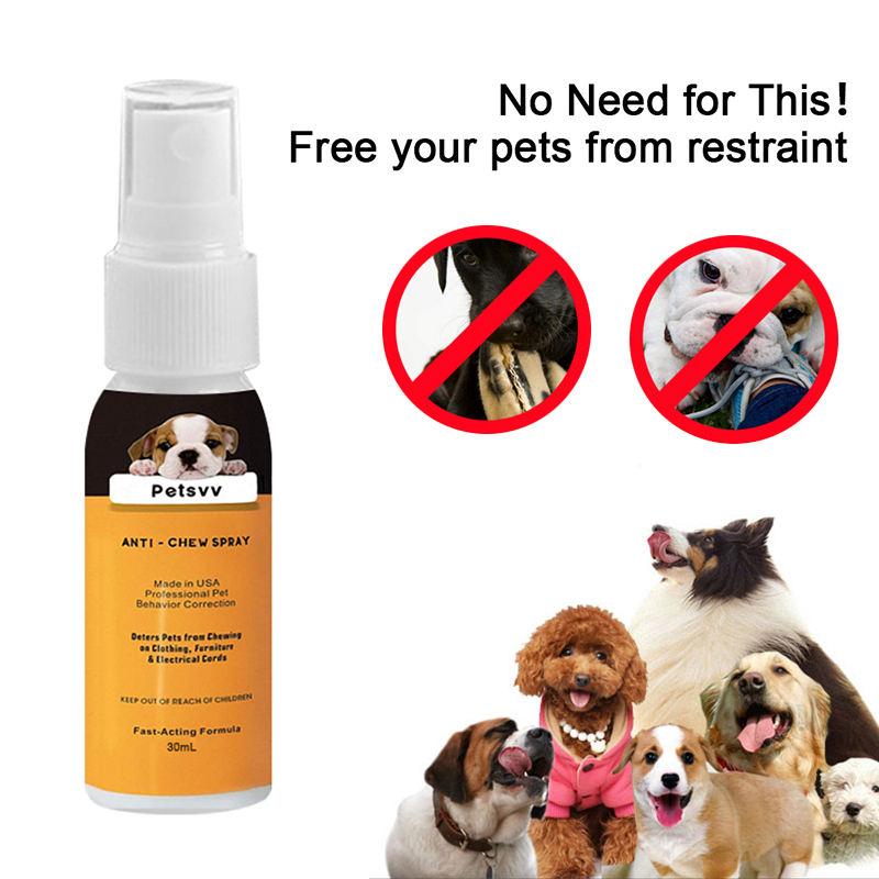 Pets Care Dog Anti Chewing Spray For No Chew Spray Deterrent For Dogs Anti Chew Pet Training Corrector 2019 Hot