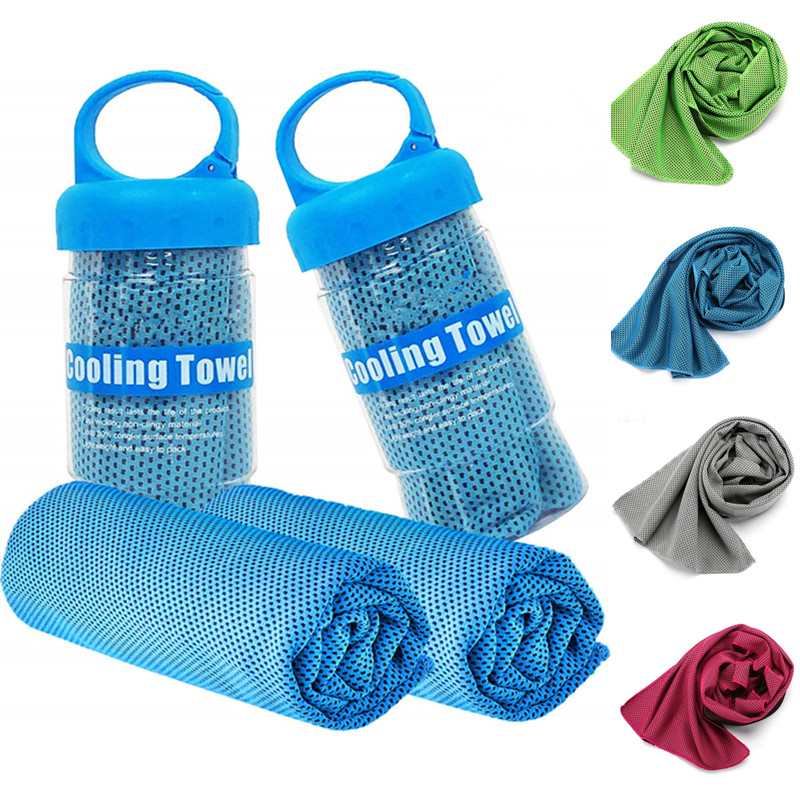 90*30cm Cooling Towel Travel Quick-Dry Beach Towel Microfiber Gym Towel For Yoga Gym Travel Camping Golf Football Outdoor Sports