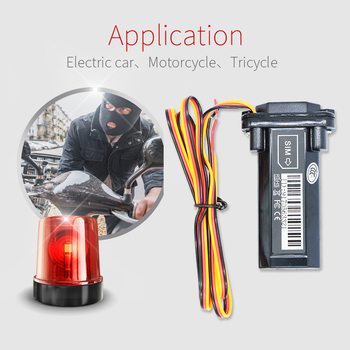 Remote Cut-off Engine GT02-2G 3G 4G AODIHENG Deluxe Easy Installation No Need Charge GPS Tracker for Motorcycle or Car image