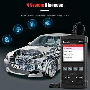Image 3 - LAUNCH cr5001 obd2 profissional scanner automotivo atualização gratuita obd2 auto scanner desligar motor mil luz ferramenta de diagnóstico do carro