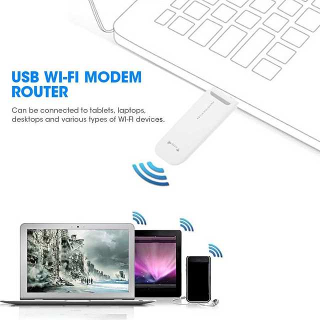 3G/4G USB Modem with WIFI LTE Wireless Router Adapter for Phone Tablet Computer Laptop USB Wi-Fi Modem Router 2