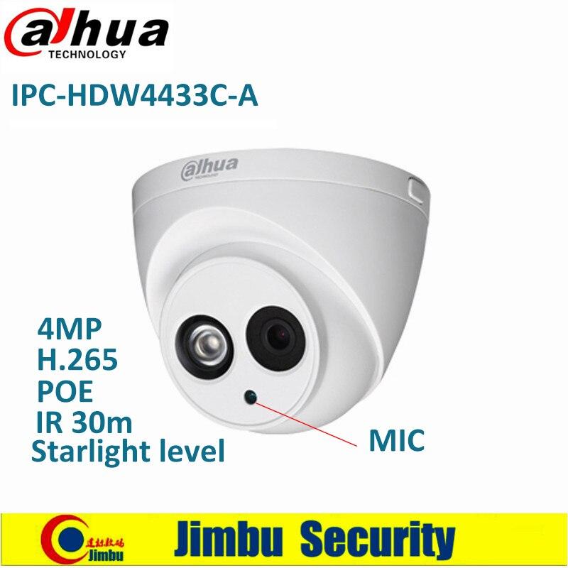 Dahua IP caméra IPC HDW4433C A Starlight niveau 4MP PoE intégré Micro IR30m IP67 réseau CCTV caméra remplacer IPC HDW4431C A-in Caméras de surveillance from Sécurité et Protection on AliExpress - 11.11_Double 11_Singles' Day 1