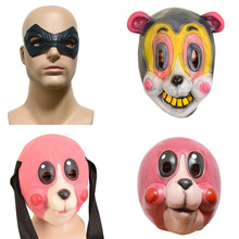 Cosplay Mask Party-Props Latex Superhero Black Full-Face Headwear Takerlama Scary Cha