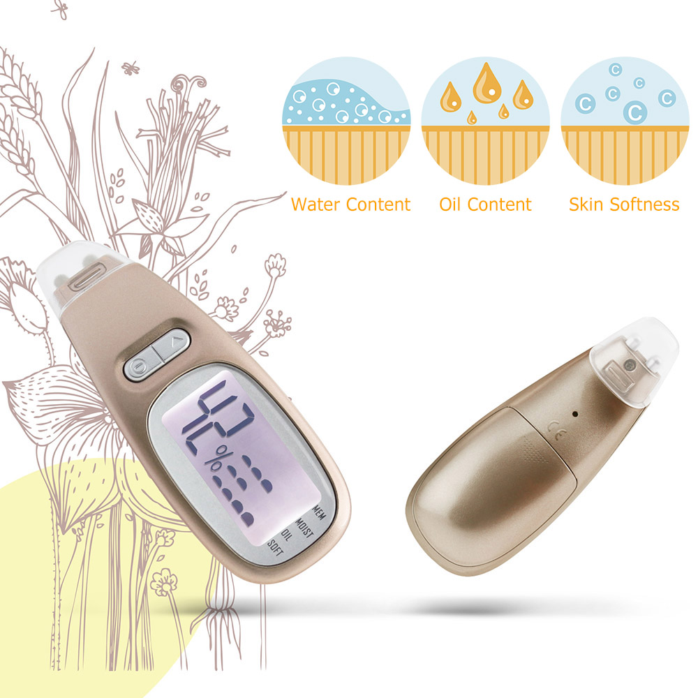 Digital Facial Skin Analyzer Moisture Oil Detection Monitor