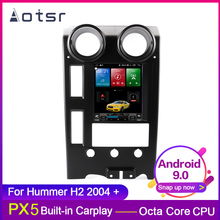 AOTSR One din 4G+64GB Android 9 0 Tesla style Car GPS Navigation For Hummer H2 2004+ Multimedia Player Radio stereo Carplay cheap 4*45W JPEG 1024*768 Bluetooth Built-in GPS CD Player FM Transmitter Mobile Phone MP3 Players Radio Tuner Touch Screen Built-In Speaker Microphone