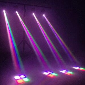 Image 5 - Szybka wysyłka Mini LED 10W wiązka RGBW reflektor z ruchomą głowicą światło o dużej mocy z profesjonalnym na imprezę KTV scena dyskoteki Dj