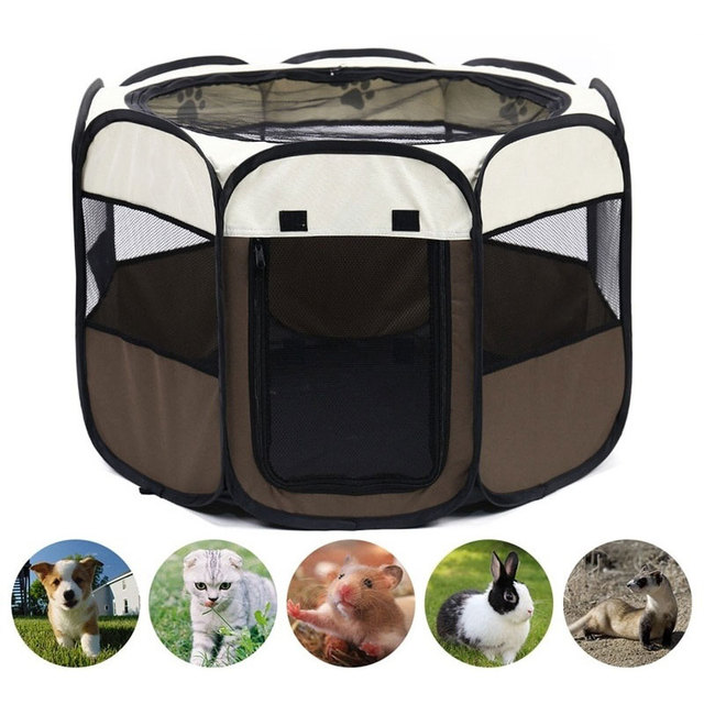 Portable Folding Kennel 1