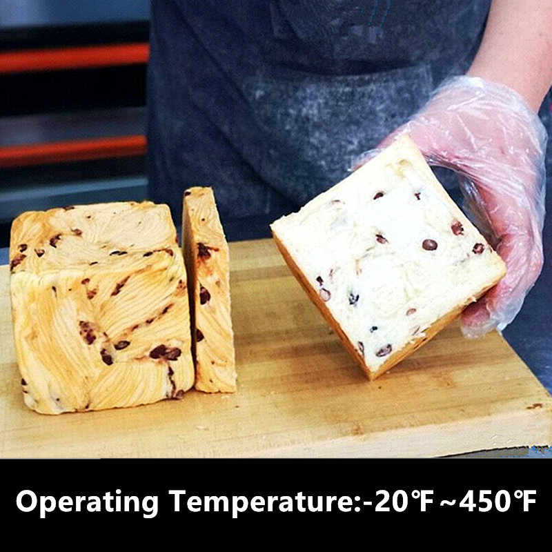 سيليكون قالب الكعكة مستطيل عموم خبز قوالب الخبز نخب قالب الحلوي شكل خبز أطباق الخبز المعجنات أدوات رغيف المقالي