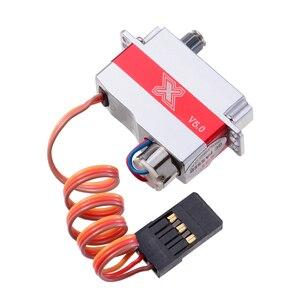 Image 5 - KST Micro Servo X08N V5.0 Mô Men Xoắn Cao Cánh Mỏng Nhẹ Cánh Cố Định Lái DLG Tàu Lượn Máy Bay Trực Thăng