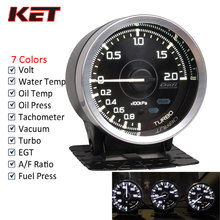 Defi A1 2.5inch 60mm 7 Colors Gauges Water Temp Oil Turbo Boost Pressure Ext Air Fuel Ratio AFR