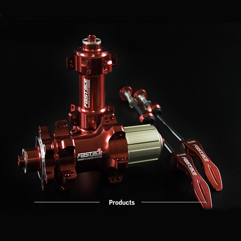 FASTACE DA206 ступица дискового тормоза для горного велосипеда 24/28 отверстие 30 кольцо ступица 11 скорость ступица подшипника ступицы колеса велосипеда аксессуары