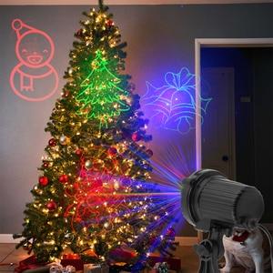 Image 5 - ALIEN RGB Waterdichte Outdoor Tuin Kerst Laser Projector Holiday Party Boom Xmas Decor Effect Verlichting Douche Met Afstandsbediening