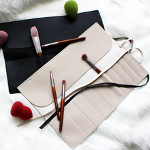 Cosmetic Bag Makeup Brushes Case Portable for Make Up Brush Travel Organizer Rolling Pouch Holder Professional Beauty Tool