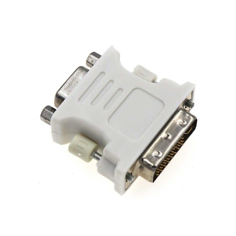1080 P DVI D Vfa Laki-laki Ke Perempuan Soket Adaptor Konverter DVI TO VGA 24 + 5 Pin DVI converter Female TO VGA Adaptor