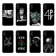 Hip hop Rapper xxxtentacion Lil Peep Lil Baby Back Cover Phone Cases For iPhone 5 5s SE 6 6S Plus 7 8 Plus X10 XS MAX XR(China)