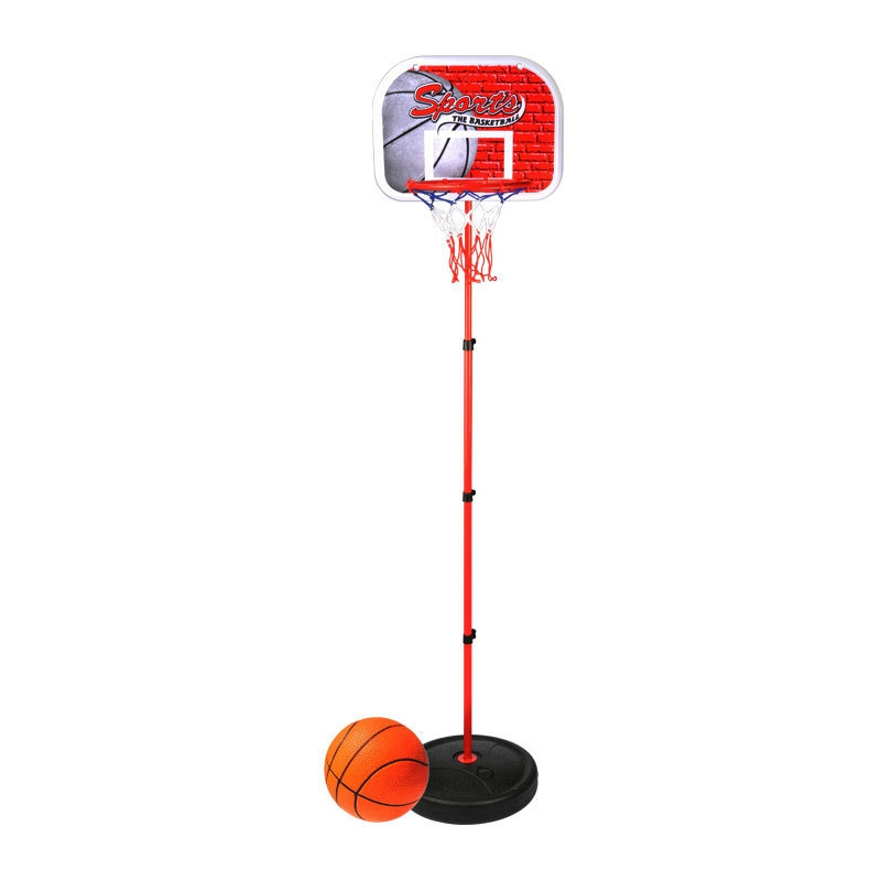 Children's Basketball Hoop Children Can Raise And Drop The Frame Outdoor Indoor Basketball Frame Iron Frame Iron Frame Toy