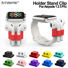 Holder-Clip Earphone-Accessories Apple Airpods Anti-Lost Silicone Nice Wireless for Pro