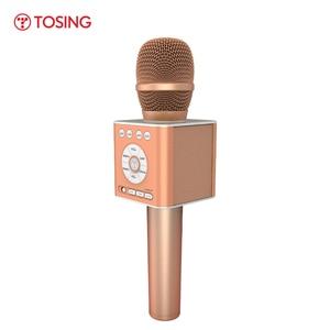 Image 5 - TOSING altavoz Q12 con micrófono para Karaoke, para coche, KTV, coro, fiesta, regalo de Navidad, Bluetooth, reproductor USB